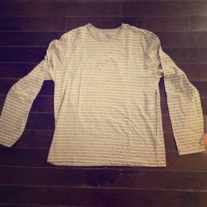 J Crew Striped Long Sleeve T-Shirt